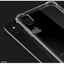 Anti burst Clear Cases for iPhone XR