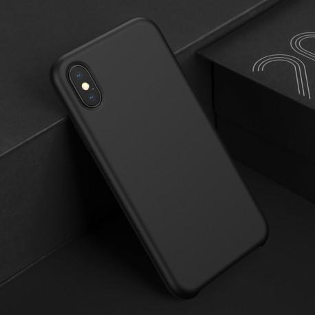 Plain Liquid Silicone Gel Rubber Slim Fit iPhone XR