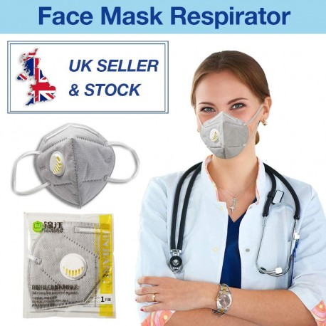 IPT 5 Layer Protective Face Covers 3 PCS